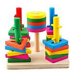 accoppiamento geometrico blocchi giocattolo