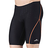Sbart Men's Swimwear Breathable / Compression / Lightweight Materials Swimwear Bottoms Strings Black BlackXL