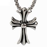 Retro-Kreuz Titan Kettenanhänger
