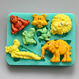 Animals Shape Chocolate Silicone Molds,Cake Molds,Soap Molds,Decoration Tools Bakeware