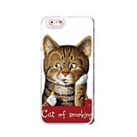 EFORCASE® Smoking Cat HD 3D stereoscopic TPU and PC Phone Case for  iphoneSE/5S/5/6/6S/6plus/6S plus