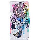 Cuerpo Completo Soporte de Tarjeta / Dar la vuelta Other Cuero Sintético Suave Card Holder Cubierta del caso para AppleiPhone 6s Plus/6
