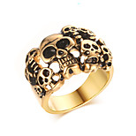 Rock Character  18K Ring