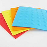 Folding Silicone Mat Insulation Pad Placemat Table Mat Insulation Pad Non-Slip Multifunction 5Pcs