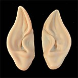 Pvc Fairy Pixie Fake Elf Ears Halloween Mask New Party Mask Scary Halloween Decoration Soft Pointed Prosthetic Ears
