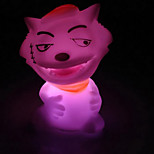 loup poupée coloré nightlight conduit