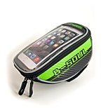 Bike Handlebar Bag Reflective Strip / Wearable / Phone Holder / Reflective / Phone/Iphone / Touch Screen for 5.5 Inch