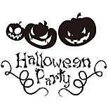 aw9424 Halloween Creative Pumpkin Home Wall Decal Halloween Party Vinyl Wall Stickers for Shop Window
