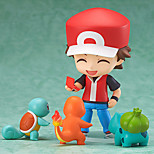 Pocket Little Monster Ash Ketchum PVC 10cm Anime Action Figures Model Toys Doll Toy 1 Pc