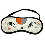 Natsume Yuujinchou Flannel White Cat  Sleeping Eye Mask