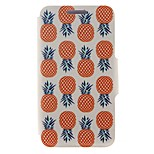 Kinston® Pineapple Pattern PU Leather Full Body Cover with Stand for iPhone SE/5/5s/6/6s/6 Plus/6s Plus