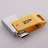 ZP C09 8GB USB 2.0 Water Resistant / Shock Resistant / Rotating / OTG Support (Micro USB)