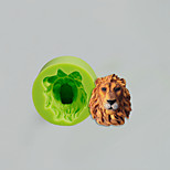 Lions Head Silicone Mold Cake Decoration Baking Sugarcraft Tools Polymer Clay Fimo Fondant Chocolate Candy Soap Making