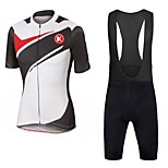 KEIYUEM®Others 2016 Summer Cycling Jersey Short Sleeves + BIB Shorts Ropa Ciclismo Cycling Clothing Suits #63