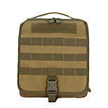 2 L Backpack Camping & Hiking Leisure Sports Multifunctional Brown Canvas Other