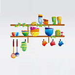 Wall Stickers Wall Decals Style Creative Diversity Kitchen PVC Wall Stickers