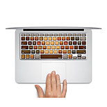 Keyboard Decal Laptop Sticker Wood Pattern for MacBook Air 13