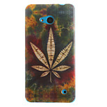 Leaf Painting Pattern TPU Soft Case for Microsoft Nokia Lumia 640/530/630