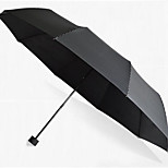 Ten Stripe Bone Umbrella Folding Umbrella Sunny Oversized Umbrella Windproof Reinforced Vinyl Sun Umbrellas