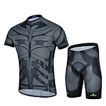 Sports Bike/Cycling Jersey + Shorts / Bottoms / Tops Men's Short Sleeve Breathable / Sweat-wicking Elastane WhiteS / M / L / XL / XXL /