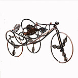 cykel form støbejern vin rack