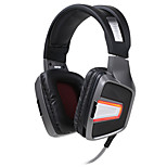 Sennic G291 Headphone/Headset For PC Gaming with Microphone / Noise-Cancelling  With Vibrating Function & Cool LED light
