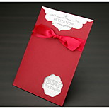 The New Business Invitation Red Continental Wedding Invitation Personalized Custom Business Invitations