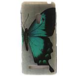 espalda IMD Mariposa TPU Suave Painting TPU Cubierta del caso para Other Other