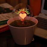 I Love You Potted LED Night Light