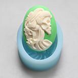 moldes do sexo feminino esqueleto de silicone cabeça chocolate, moldes de bolo, moldes de sabão, ferramentas de decoração bakeware