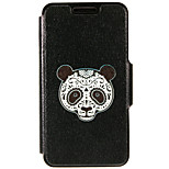 Kinston® Panda Facebook Pattern PU Leather Full Body Cover with Stand for iPhone SE/5/5s/6/6s/6 Plus/6s Plus