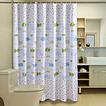 Cute Cartoon Pattern Shower Curtains W71