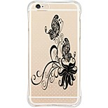 Back Shockproof/Transparent TPU Soft Butterfly Case Cover For Apple iPhone 6s Plus/6 Plus/iPhone 6s/6/iPhone 5s/5/SE