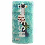 espalda IMD Fruta TPU Suave TPU+IMD Cubierta del caso para LG LG G4 / LG Mini G4 / G4C / LG G3 Mini / Other