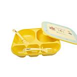 La alimentación de los cubiertos PP For La alimentación de los cubiertos 1-3 años de edad Bebé