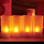 4 pcs Voice Sensor LED Candle light Night Light