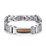 2016 New Fashion Jewelry Magnetic 316L Stainless Steel Bracelets For Men & Women 8.5