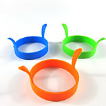 Round silicone baking tool cake omelette high temperature safety and environmental protection model 5Pcs