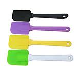 Creative Kitchen Gadget / Melhor qualidade / Alta qualidade Cake Spatula Silicone Scraper Random Color Silicone 25*6*1