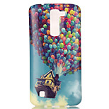 The New Balloon House Painted Patterns TPU Soft Case Phone Case For LG K4/K8
