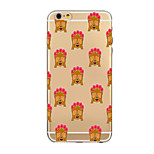 Per Custodia iPhone 6 / Custodia iPhone 6 Plus Ultra sottile Custodia Custodia posteriore Custodia Vignette Morbido TPU AppleiPhone 6s