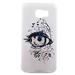 Eye Pattern Frosted TPU Material Phone Case for Samsung Galaxy S7 Edge Plus/S7 Edge/S7/S6/S5