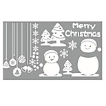 Trade Explosion Models Christmas Snowman Decoration Bedroom Wall Stickers Glass Window Stickers Custom Map