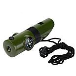 sifflet / autre / Compas/boussole / Thermomètre / Magnifier Directionnel / Multi FunctionRandonnées / Camping / Voyage / Outdoor /