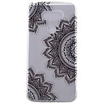 espalda IMD Flor TPU Suave Frosted Case Cubierta del caso para LG LG G5