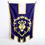 World Of Warcraft   Blue Terylene Alliance War Flag