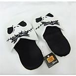 The Nightmare Before Christmas Jack Skellington Kigurumi Pajamas Warm Slippers Without Collar 28cm