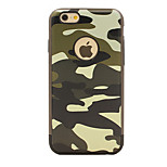 Shockproof / Dustproof Camouflage Color TPU Soft  Case Cover For iPhone 6s Plus/6 Plus / iPhone 6s/6/5