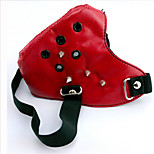 Tokyo Ghoul Red Rivet Mouth Mask PU Leather