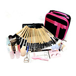 32 Makeup Brush Set Brush Colour Makeup Makeup Brush Sets + Professional Hairdressing Free Gift Set Make-Up Bag